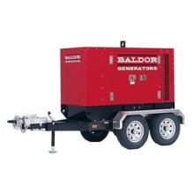 Baldor TS35T – 30kW Industrial Towable Diesel Generator w/ Trailer