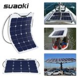 Suaoki-50W-18V-12V-Solar-Panel-Charger-SunPower-Cell-Ultra-Thin-Flexible-with-MC4-Connector-Charging-for-RV-Boat-Cabin-Tent-CarCompatibility-with-18V-and-Below-Devices-0-3